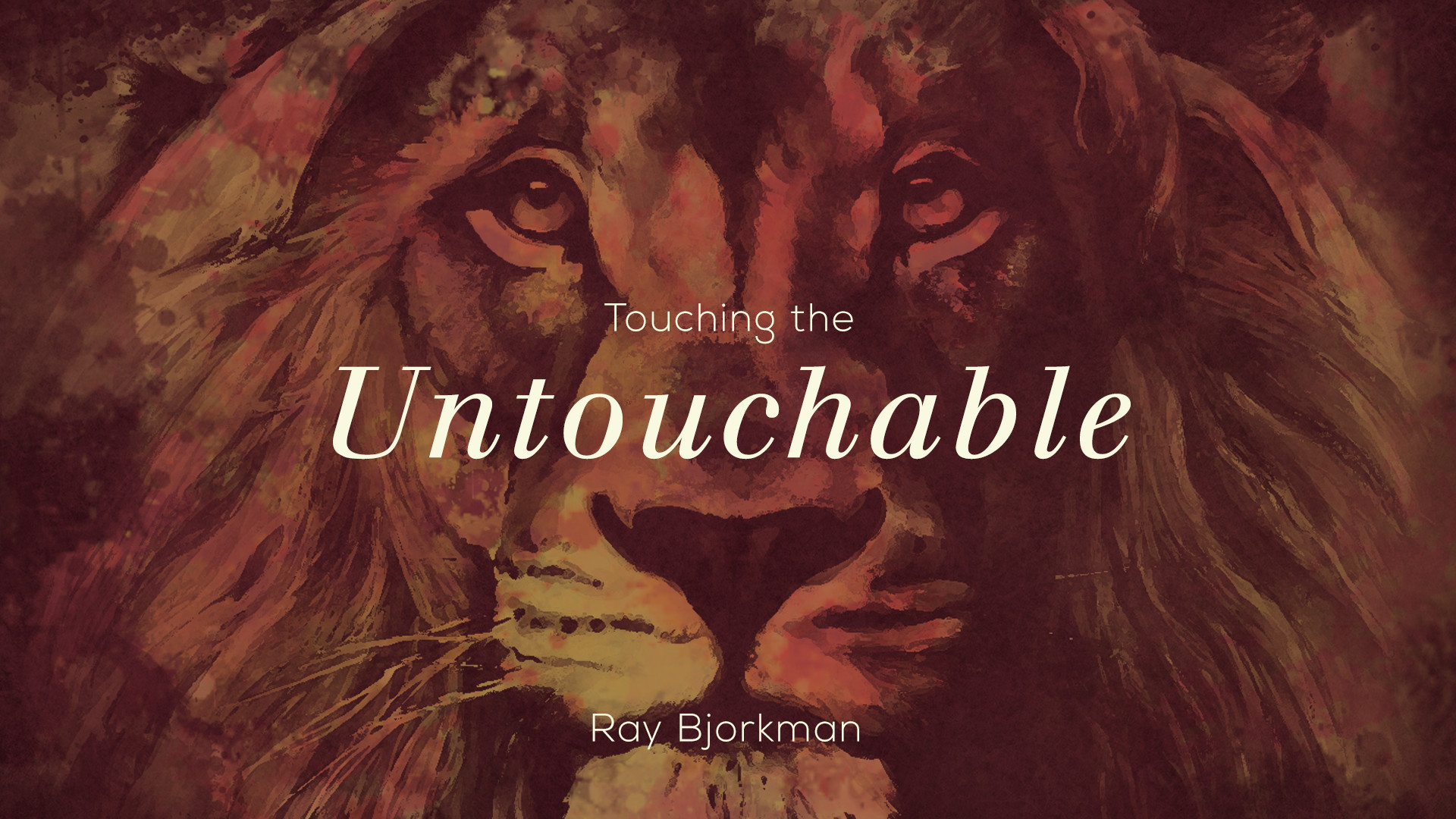 Touching the Untouchable